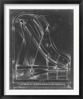 Grand Piano Diagram Fine Art Print
