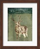 Deer In The Field Fine Art Print