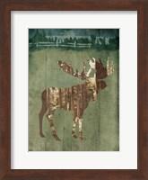 Moose In The Field Fine Art Print