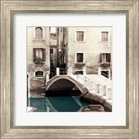 Teal Venice Fine Art Print