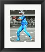 Cam Newton 2015 Spotlight Action Fine Art Print
