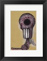 Red Skeleton Fine Art Print