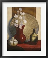Still Life with Red Vase Fine Art Print