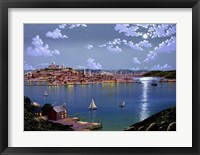 Boston From Dorchester Heights In 1848 Fine Art Print
