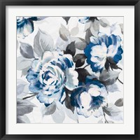 Scent of Roses Indigo III Fine Art Print