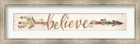 Believe Arrow Fine Art Print