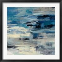 Indigo Wave Fine Art Print