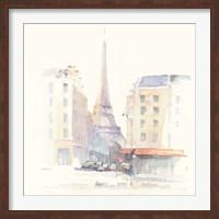 Paris Morning Square Fine Art Print