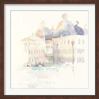 Venice Evening Square Fine Art Print