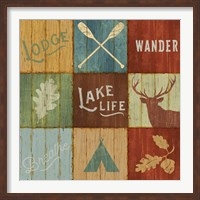 Lake Lodge VII Fine Art Print