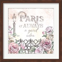 Paris Roses IV Fine Art Print