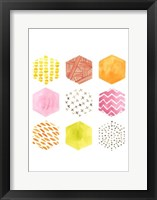 Honeycomb Patterns II Fine Art Print