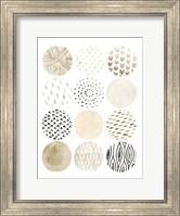 Neutral Pattern Play I Fine Art Print