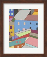 Rooftops in Color I Fine Art Print