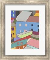 Rooftops in Color I Fine Art Print