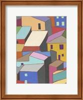 Rooftops in Color II Fine Art Print