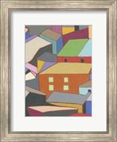 Rooftops in Color III Fine Art Print