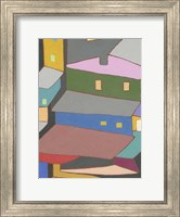 Rooftops in Color IV Fine Art Print