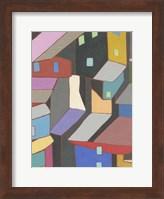 Rooftops in Color V Fine Art Print