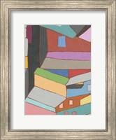 Rooftops in Color VI Fine Art Print