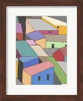 Rooftops in Color VII Fine Art Print