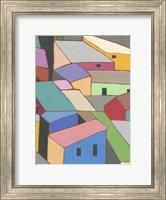 Rooftops in Color VII Fine Art Print