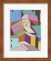 Rooftops in Color VIII Fine Art Print