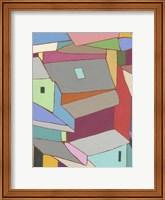 Rooftops in Color XI Fine Art Print