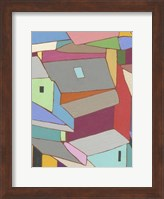 Rooftops in Color XI Fine Art Print