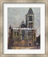 Basilica, St. Denis Fine Art Print