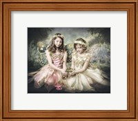 Frog and Princesses Fine Art Print
