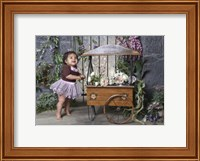 Flowers for Sale Fine Art Print