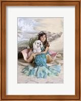 Mermaid and Merdog Fine Art Print