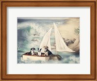 Ruff Seas Fine Art Print
