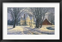 Play Day In The Snow Fine Art Print