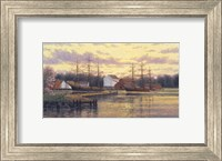 Mystic Harbor Fine Art Print