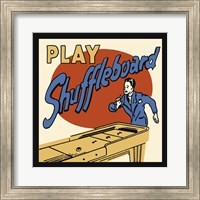 Play Shuffleboard Fine Art Print