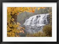 Lower Bond Falls In Autumn #2, Bruce Crossing, MI 11 Fine Art Print