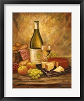 Tuscany Table With Cheese Fine Art Print