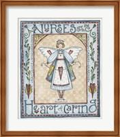 Heart Of Caring Fine Art Print