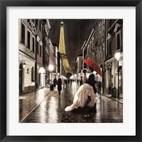 Kissing in Paris (Detail) Fine Art Print