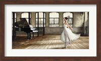 Dim Light Ballerina Fine Art Print