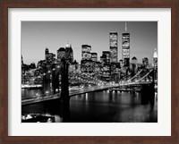 Brooklyn Bridge, NYC BW Fine Art Print