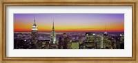 Midtown Manhattan at Sunset, NYC Fine Art Print