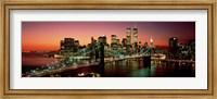 Brooklyn Bridge, NYC Pano Fine Art Print