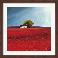 Field of Poppies (Detail) Fine Art Print