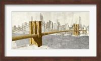 Gilded Brooklyn Bridge Fine Art Print