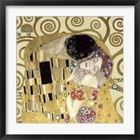 The Kiss  (Detail) Fine Art Print