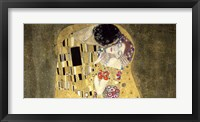 The Kiss (horizontal detail) Fine Art Print