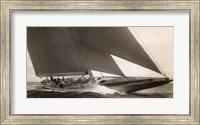 J Class Sailboat, 1934 Fine Art Print